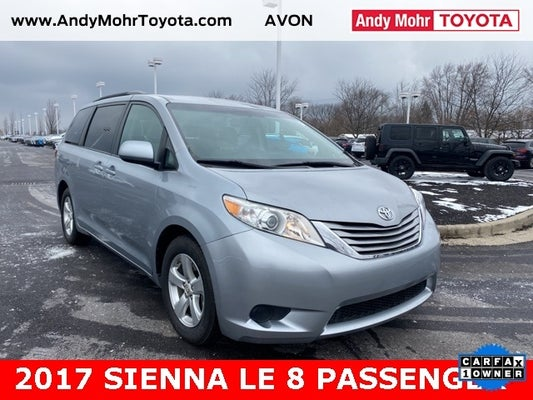 2017 Toyota Sienna Le 8 Passenger For Sale Avon In Tp6974 Andy Mohr Toyota