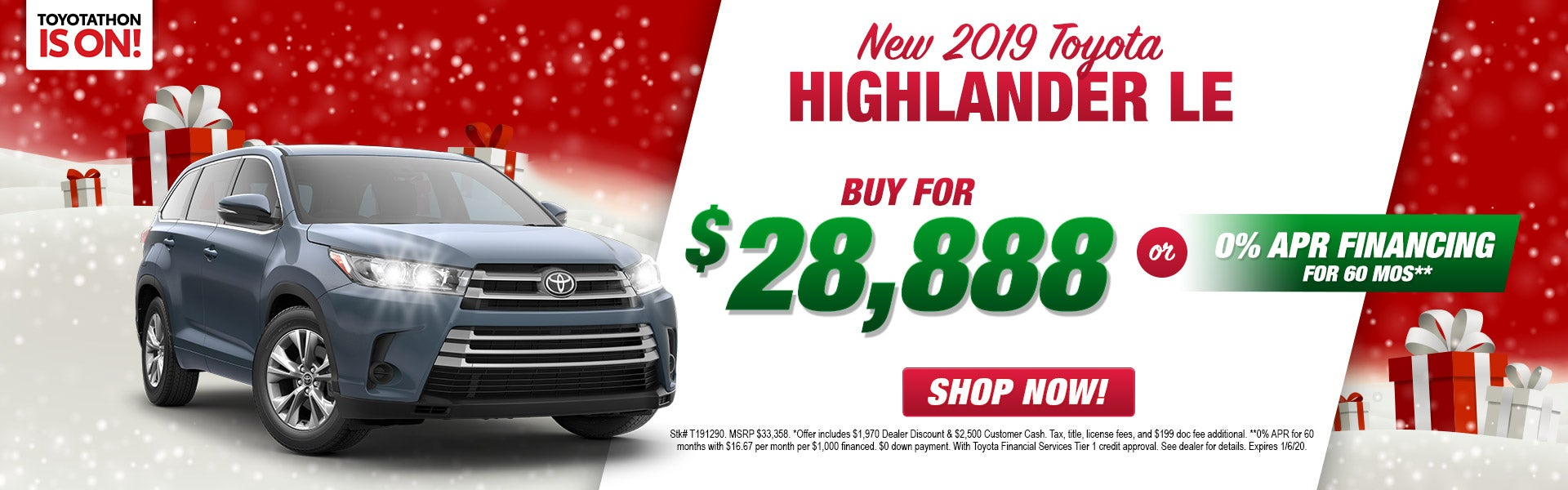 Toyota Financing Deals >> 2019 Toyota Highlander Indianapolis In Andy Mohr Toyota Avon