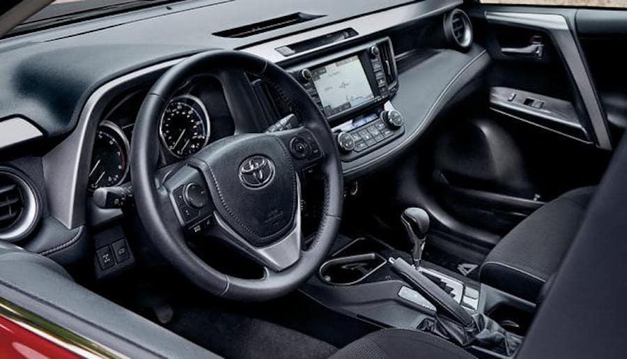 Toyota Rav4 Hybrid Interior Avon In Andy Mohr Toyota