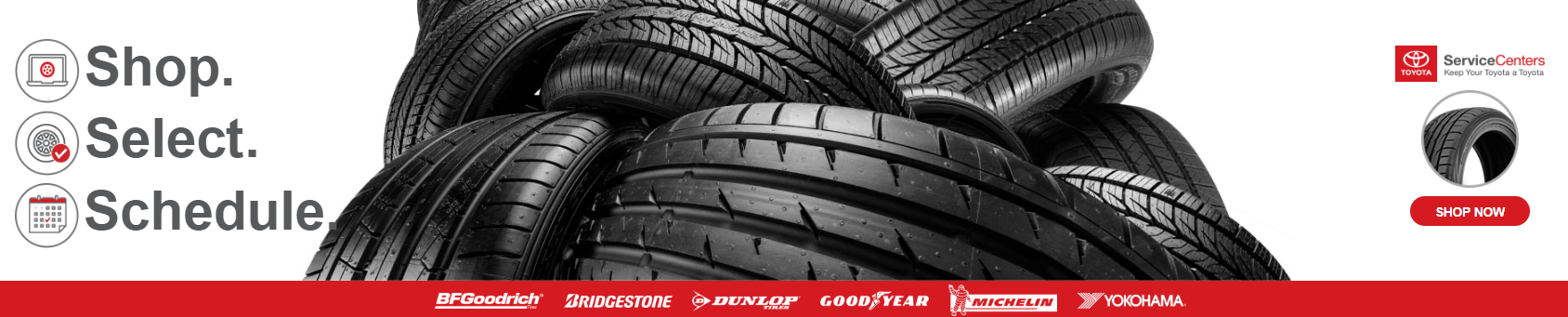 Toyota Tire Deals >> Tire Shop Avon In Andy Mohr Toyota